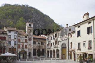 Piazza Flaminio in Vittorio Veneto