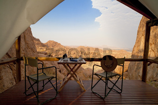 Mowani Mountain Camp in Namibia