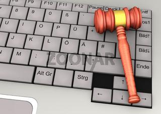 Keyboard Gavel