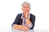 satisfied  pensioner