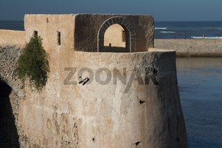 Bastion de L'Ange in the Portuguese Fortified City of Mazagan. El-Jadida