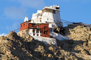 Maitreya Tempel in Leh, Ladakh, Nordindien