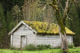Holzhütte