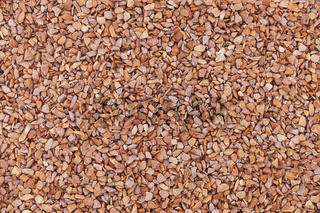 Kleine Steine braun Textur