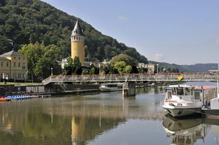 Quellenturm, Bad Ems, Rheinland-Pfalz, Deutschland, Europa