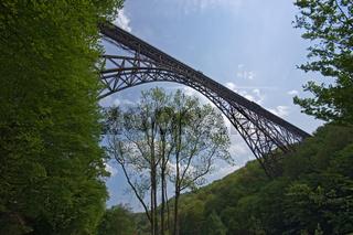Müngstener Brücke bei Solingen. Deutschland