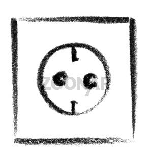 receptacle icon