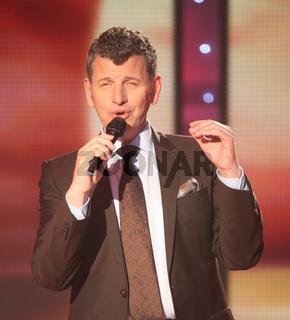 Sänger Semino Rossi in der MDR-TV-Show 'Inka Bause live' am 19.04.2013