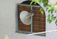 loudspeaker of mosque