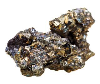 crystal pyrite