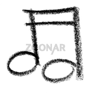 musical note sketch