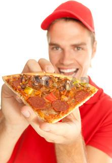 nahaufnahme pizza