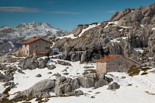 Country houses in Picos de Europa, Asturias, Spain