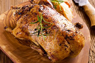 duck roasted