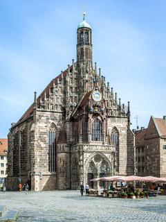 church Nuremberg Bavaria Germany