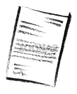 sketched document