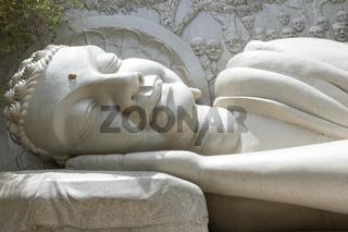Sleeping Buddha, landmark on Nha Trang, Vietnam