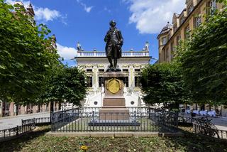 Goethestatue vor der Alten Börse, Leipzig