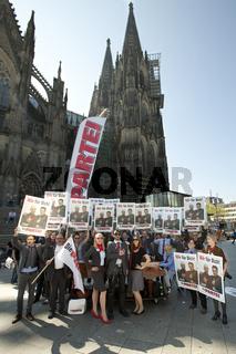 Mark Benecke macht Wahlkampf in Koeln