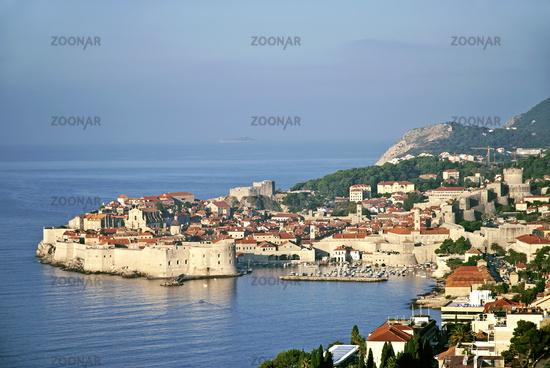 view of dubrovnik in croatia