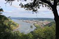 View of the Rhine to Bingen, Middle Rhine
