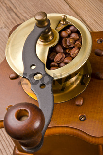 Rustic coffee grinder