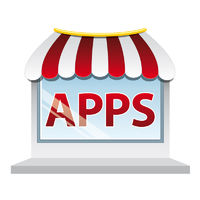 Apps shop window