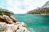 Beautiful landscape of Calanque de Sormiou. South France