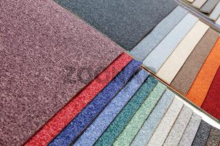 samples of carpets