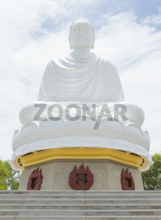 Buddha, landmark on Nha Trang, Vietnam