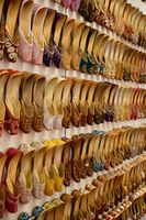A shoes market