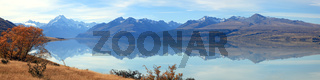 Mountain Cook Panorama New Zealand