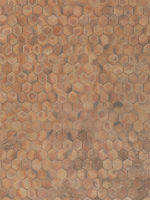 real unstiched terracotta hexagon stone floor
