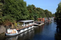 Houseboats in Hamburg