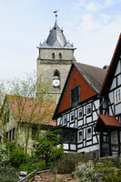 Church, City of Wolfhagen, Germany