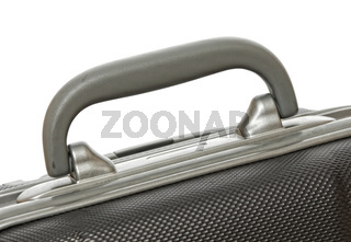 used suitcase detail