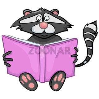 Cartoon Character Raccoon