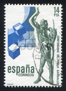 Gran Profeta sculpture by Pablo Gargallo