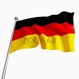 german flag 3d