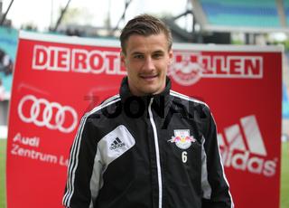 deutscher Fussballspieler Stefan Kutschke DFB Regionalliga Nordost Saison 2012/13 RB Leipzig