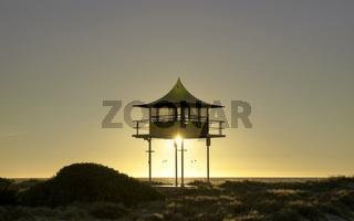 surf life savers lookout sunset