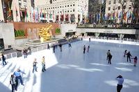 GE Building Rockefeller Center, Manhattan in New Y