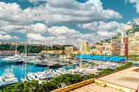 Amazing panoramic view of Monaco