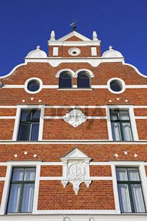 alte Speichergebaeude aus dem 19. Jahrhundert, Stralsund, alter