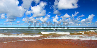 Lake Superior Beach Panoramic