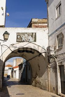 Strasse in Portimao, Algarve