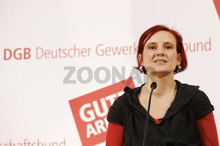 Sommer meets chairmans of the LINKE Party, Katja Kipping and Bernd Rixinger
