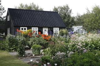 Botanical Gardens in Akureyri. Eyjafjörður