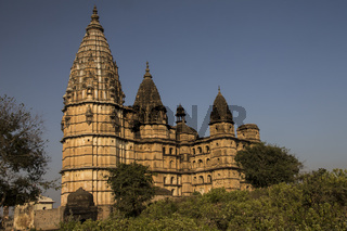 Chaturbhuj Temple. Orchha, Madhya Pradesh, India