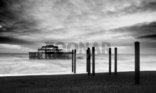 The Brighton West Pier